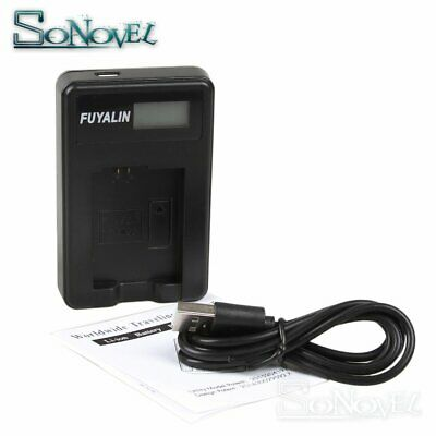 USB LCD Battery Charger EN-EL14 For Nikon EN-EL14a D5600 D3400 D3300 D3200 D3100