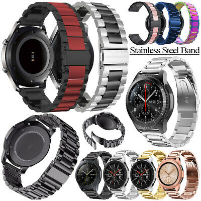 Stainless Steel Strap Band For Samsung Galaxy Watch 42/46mm Gear S3 Sport Active
