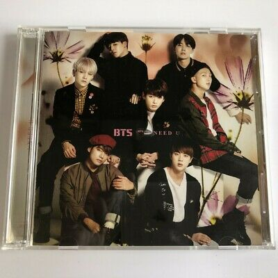 BTS Bangtan Boys I NEED U (Japanese Ver.) CD+DVD Limited Edition Free Shipping
