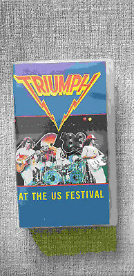 Triumph live at the US Festival VHS Video