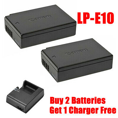 Canon LP-E10 Lithium-Ion Rechargeable Battery Pack for 1200D 1300D 4000D etc
