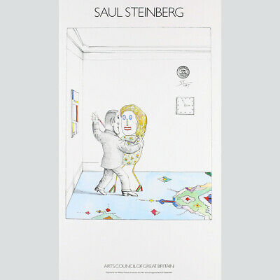 Saul Steinberg - Arts Council of Great Britain 1979