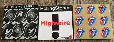 """Rolling Stones Lot Of 3 Mini Cd Singles 3"""" From Japan Brand New 1989-1994"""