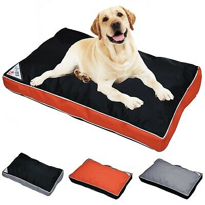 Mojo Waterproof Dog Bed, Mattress, Heavy Duty Zip Cover Puppy Pet Cushion Pillow
