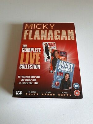 Micky Flanagan The Complete Live Collection  New (DVD  2017) New and Sealed. Out
