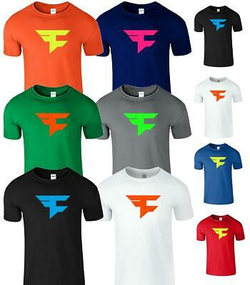 Faze Clan Mens T-Shirt Advance Gamer Top Gift COD Duty PS4 Gaming Unisex Tee