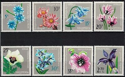 Albania 1975 _ Flowers _ Full set - MNH **