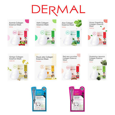 DERMAL Essence Facial Mask Sheet 23g
