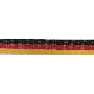 Tela Pulsera bandera Alemania German Flag Bracelet 15mm