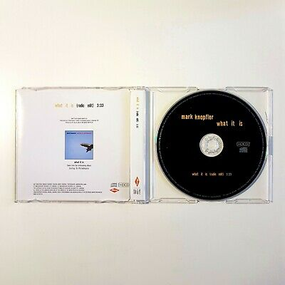 MARK KNOPFLER : WHAT IT IS (PROMO MIX)  ♦ MAXI-CD ♦ dire straits