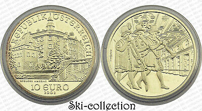 10 Euro 2002. Austria. Schloss Ambras. Silver with the Capsule