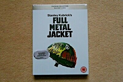 Blu-Ray Full Metal Jacket  Premium Exclusive Edition  Sealed Uk Stock
