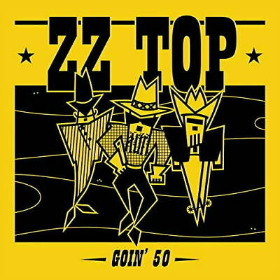 ZZ TOP GOIN' 50 CD - FIVE DECADES OF HITS (New Release JUNE 14th 2019)