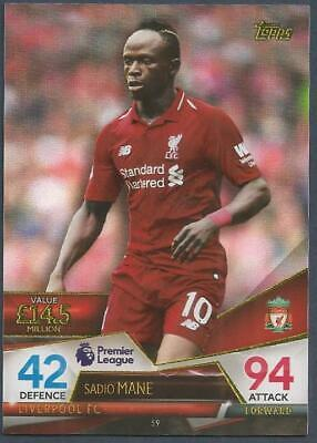 Topps Match Attax Ultimate 2018-19-#060-Liverpool-Roberto Firmino