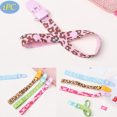 Nipple Strap Anti-drop Rope Soother Pacifier Chain Dummy Clips Baby Teething