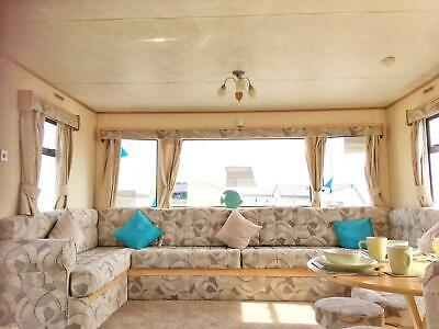 Extra wide static caravan for sale sea view pet friendly site ideal for families