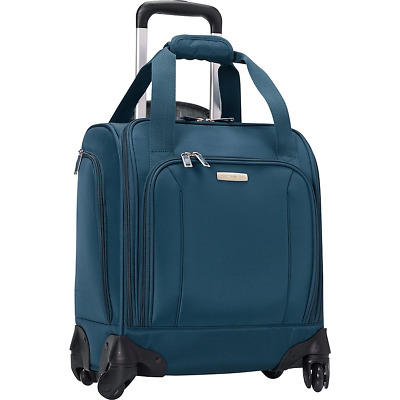 Samsonite Spinner Underseater with USB Port, Rolling Carry-On With Laptop Pocket