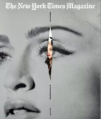 New York Times Magazine Madonna 6/9/19 MADONNA FEATURE NY TIMES NEW COPY