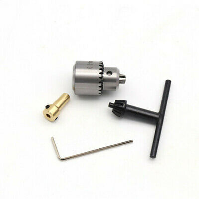 Micro 0.3~4mm Taper Mounted Lathe Electric Drill Chuck + Wrench + Chuck Key