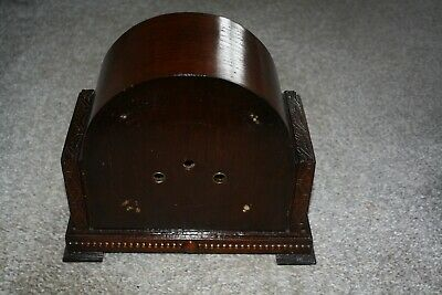 Vintage Art Deco Striking Mantel Clock Case for spares/repairs/parts