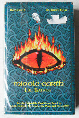 The Balrog Box 2 Balrog's Host. Complete Set Unopened. Middle Earth CCG. MIB ICE