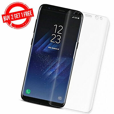 Samsung Galaxy S7 EDGE S8 S9 S9+ S10 S10+ Note 8 9 10 Full Film Screen Protector