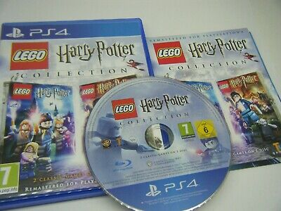 Lego Harry Potter Collection Years 1-7 Playstation 4 Game With Manual 2 Games