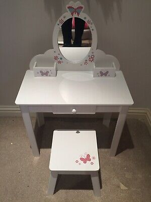 ELC Wooden Dressing Table With Stool In Original Box