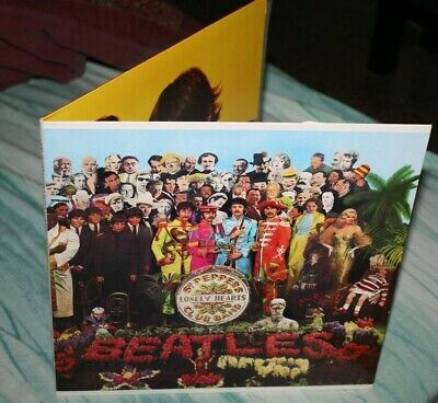 The Beatles-Sgt Pepper's Lonely Hearts...-Us Press -Near Mint