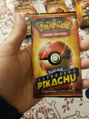 LIMITED Pokemon Detective Pikachu Movie 2 Card Pack  -PROMO 2019 NEW
