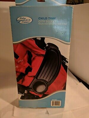 Baby Jogger City Select Single Child Tray, Black , New, 50940