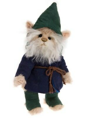 GUMP GNOME Charlie Bears MiniMo by Isabelle Lee MM175614B- 2017 LtdEd NEW!