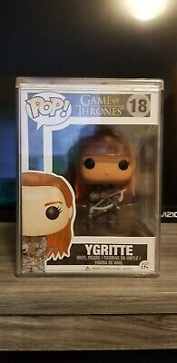 Funko Pop Ygritte Game of Thrones #18 Vaulted Retired w/ pop stack protector