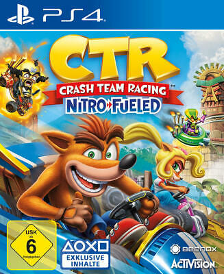 Crash Team Racing Nitro-Fueled PS4 NEU + OVP