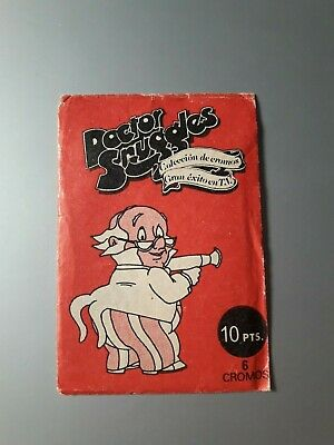 Coleccion Cromos Doctor Snuggles Sin Abrir 1983 Sticker Sealed Snuggles Tv Exito
