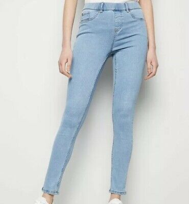 67c1dc23aba97d New Look Pale/light Blue Emilee Jegging U.K. Size 10 New Within Packaging