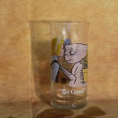 "VTG 1982 E.T Collector's series Limited Edition Pizza Hut"" Be Good glass cup"