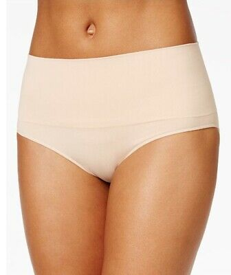 Spanx Women's Everyday Shaping Panties Brief SS0715 M/M Soft Nude NWT