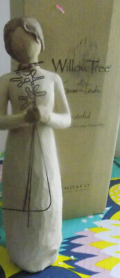 Willow Tree Hand-Painted Sculpted Figure Grateful 26147 Demdaco