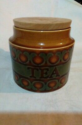 Hornsea Pottery Bronte Storage Jar With Lid tea small size