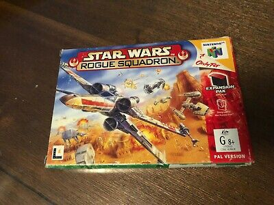 Star Wars Rogue Squadron Boxed Nintendo 64 Game - Box/Manual/Insert Only!