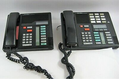 LOT of 4 Nortel Norstar M7310 M7208 M7324 SYSTEM DISPLAY PHONE PHONES 1 MONEY