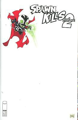 Spawn Kills Everyone Too #3 B Cover Image VF/NM Comics Book