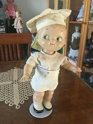 "Vintage ""Campbell Kid ""doll in Original Outfit  ca 1948"
