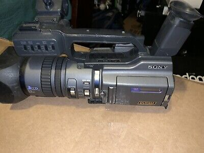 Sony DSR-PD150 Professional Digital Camcorder 12X Zoom Case Tested Japan