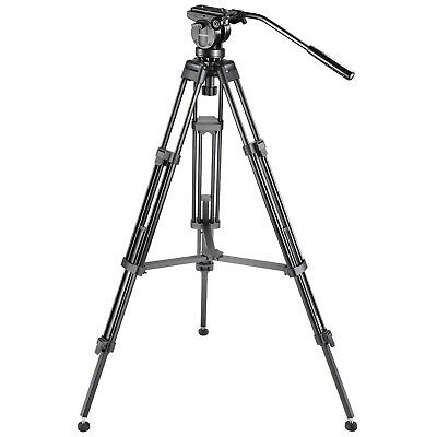 """Neewer 61""""/155cm Aluminum Tripod with 360 Degree Pan Head for Video Camcorder"""