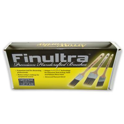 Arroworthy Finultra Angled Brush Set