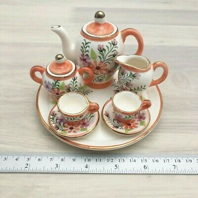 Miniature ceramic Tea Set