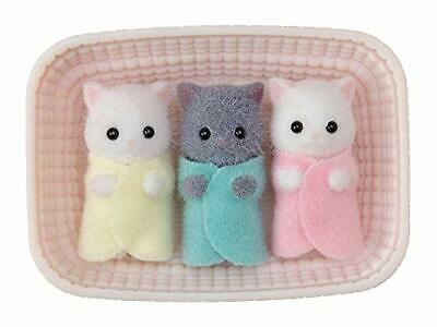 Triplets-chan of Sylvanian Families Persian Cat Free shipping from JAPAN