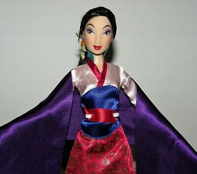 "Disney Store 2019 Mulan Singing ""Reflection"" Doll Complete & Mint Condition"